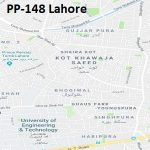 PP 148 Lahore Google Area Location Map Election 2018 Punjab Assembly constituency (Halqa)-min
