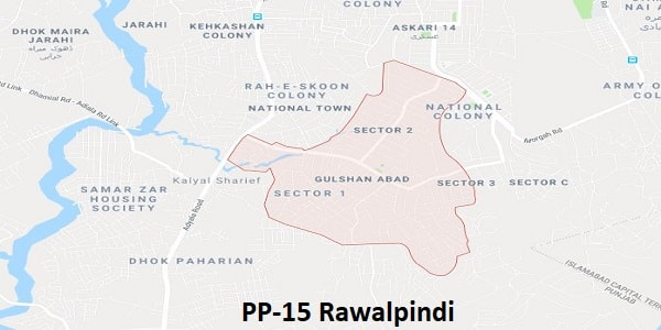 PP 15 Rawalpindi Election Result 2018 – Candidates and Map – Paki Mag