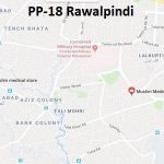 PP 18 Rawalpindi Google Area Location Map Election 2018 Punjab Assembly constituency (Halqa)-min