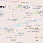 PP 197 Sahiwal Google Area Location Map Election 2018 Punjab Assembly constituency (Halqa)-min