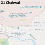 PP 21 Chakwal Google Area Location Map Election 2018 Punjab Assembly constituency (Halqa)-min