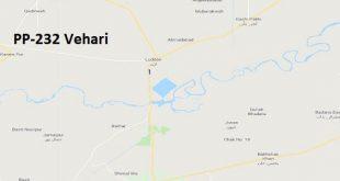 PP 232 Vehari Google Area Location Map Election 2018 Punjab Assembly constituency (Halqa)-min