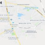 PP 40 Sialkot Google Area Location Map Election 2018 Punjab Assembly constituency (Halqa)-min