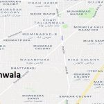 PP 55 Gujranwala Google Area Location Map Election 2018 Punjab Assembly constituency (Halqa)-min