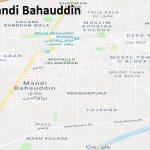 PP 65 Mandi Bahauddin Google Area Location Map Election 2018 Punjab Assembly constituency (Halqa)-min