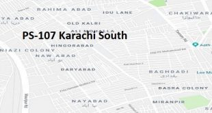 PS 107 Karachi South Google Area Location Map Election 2018 Sindh Assembly constituency (Halqa)-min