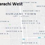 PS 121 Karachi West Google Area Location Map Election 2018 Sindh Assembly constituency (Halqa)-min