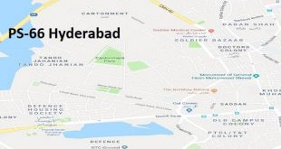 PS 66 Hyderabad Google Area Location Map Election 2018 Sindh Assembly constituency (Halqa)-min