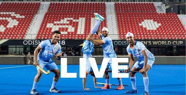 IND Vs CAN Live Hockey World Cup 2018 - Watch Online Today Canada Vs India-min