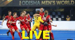 Live Field Hockey Netherlands Vs Belgium - Men's Hockey World Cup 2018 – Result Update-min